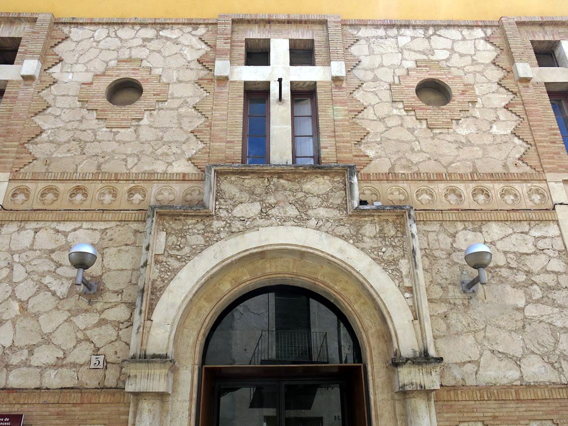 Porta Ajuntament Vilafranca Grup Carles Enginyeria